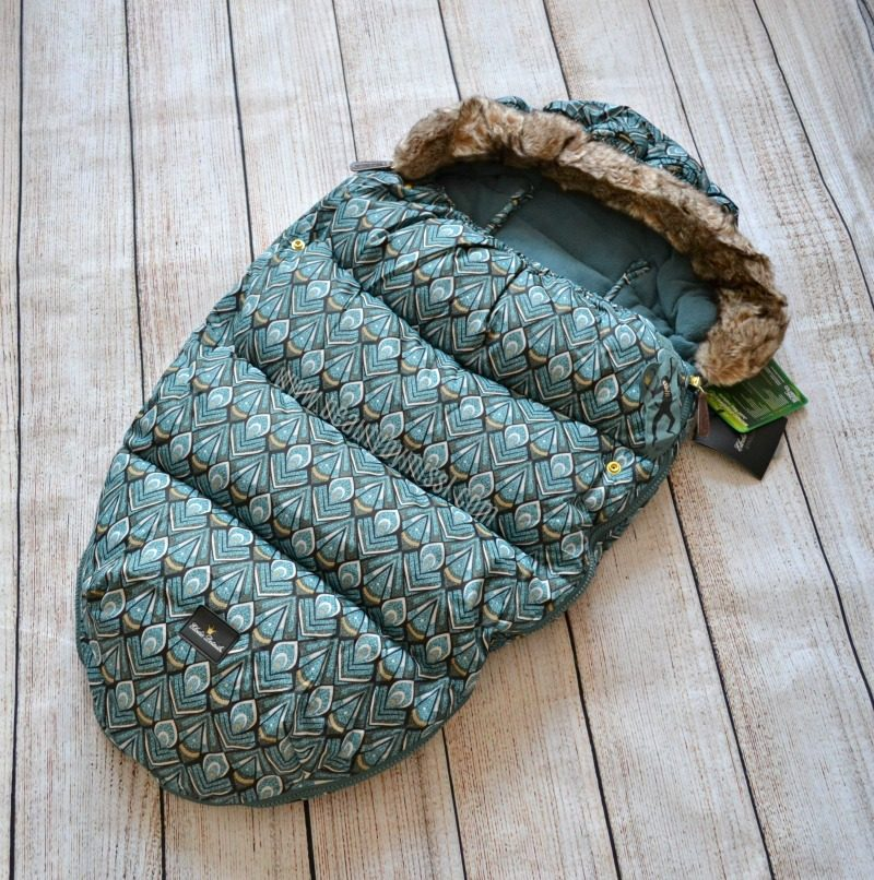 Elodie Details Everest Feathers Footmuff review