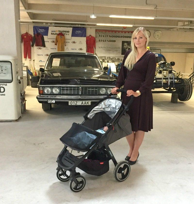 burgundy dress philandteds smart stroller