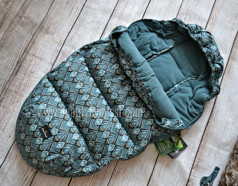 elodie details footmuff without the faux fur hood trim