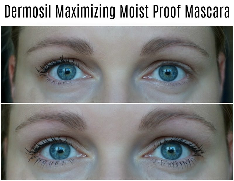 Dermosil Maximizing Moist Proof Mascara before after