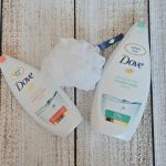 Dove Micellar Water shower gel