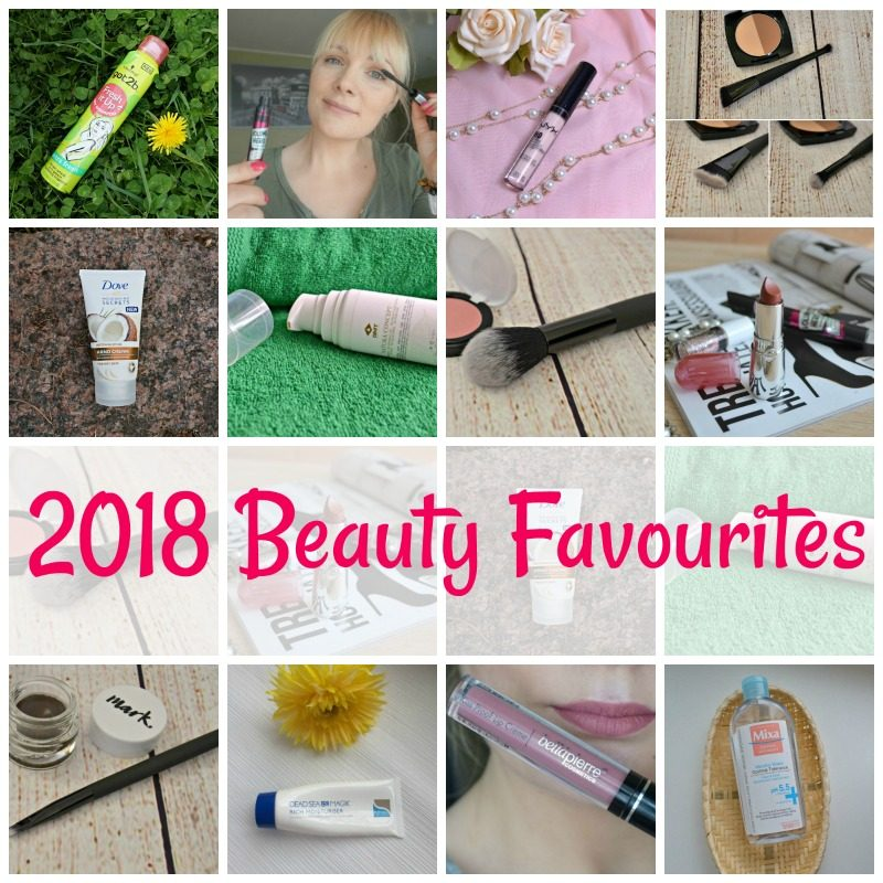 2018 Beauty Favourites