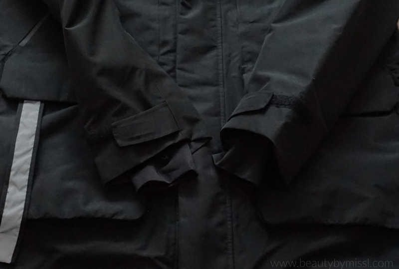 Didriksons Marcel Men's Parka sleeves with inner cuffs