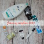 January Empties 2019