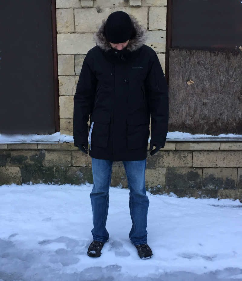didriksons Marcel Men's Parka review