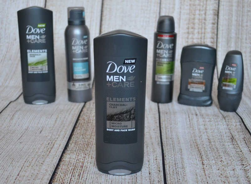 Dove Men+Care Elements Charcoal Clay Body and Face Wash