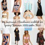 My swimwear & beachwear wishlist for Spring/Summer 2019 under $100