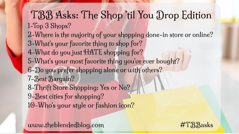 TBB ASKS: SHOPPING EDITION