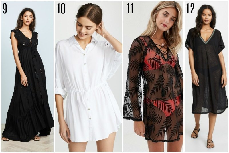 beach cover-ups under 100