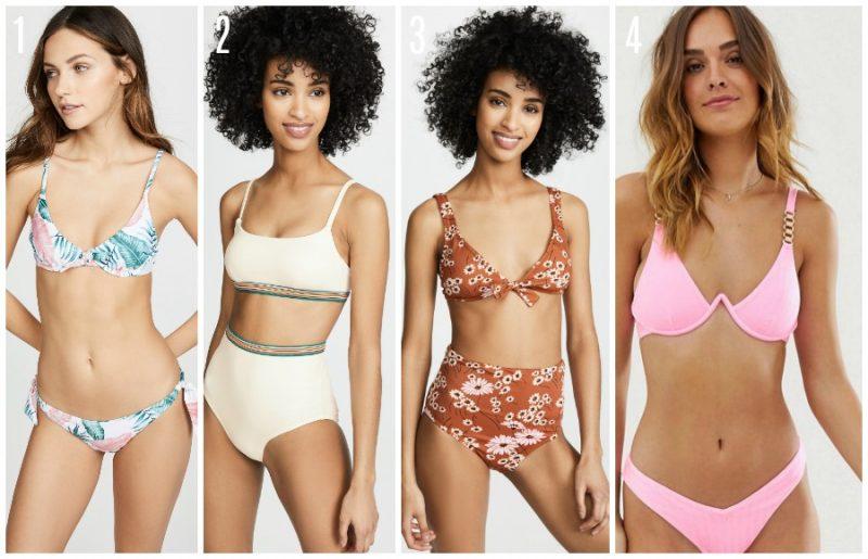 bikini tops and bottoms under $100