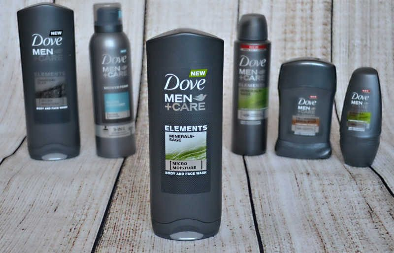 dove men+care elements Minerals+Sage body and face wash