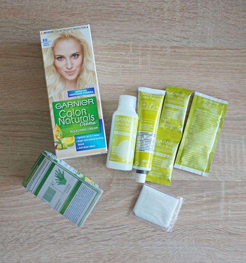 Garnier Color Naturals Creme Bleaching Cream - E0 Super Blond