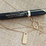 Max Factor Masterpiece Max High Volume & Definition Mascara review. Happiness Boutique necklace