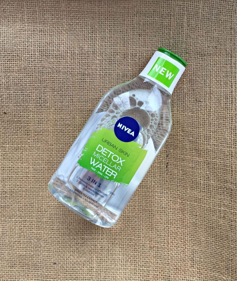 my review of Nivea Urban Skin Detox Micellar Water