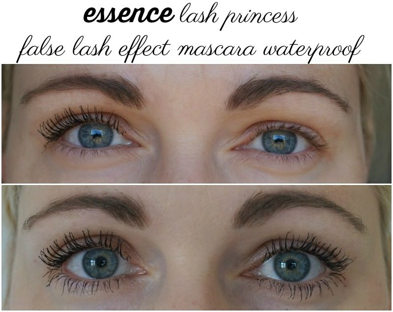 Essence Lash Princess False Lash Effect Mascara Waterproof on my lashes