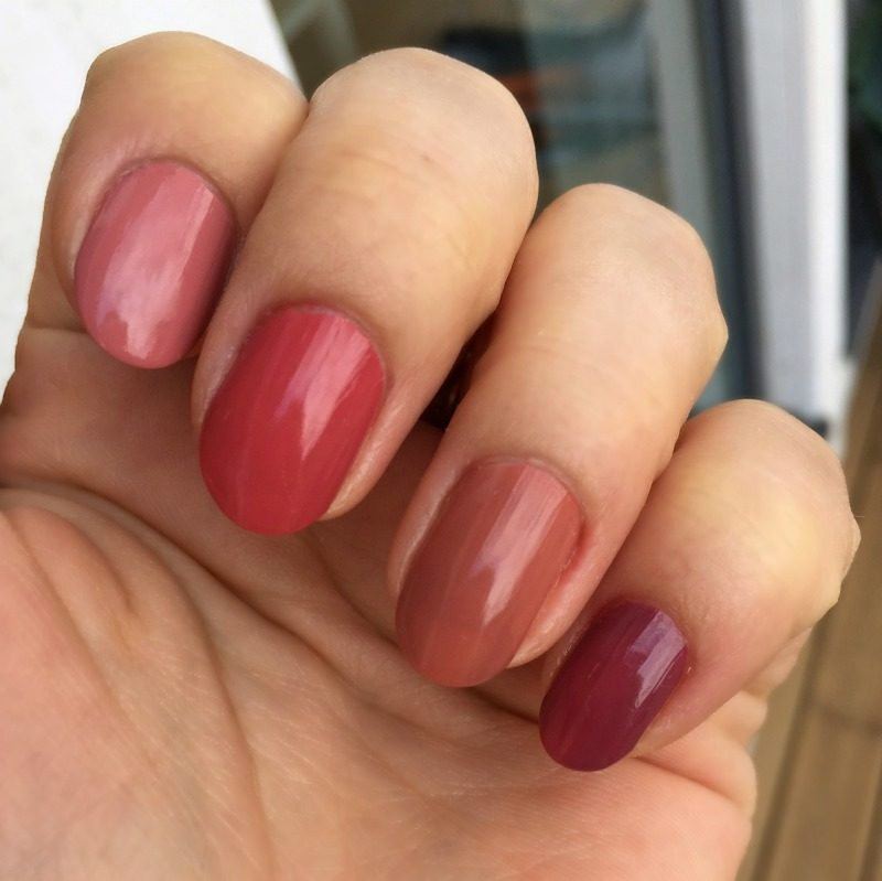manicure with essence this is me nail polishes