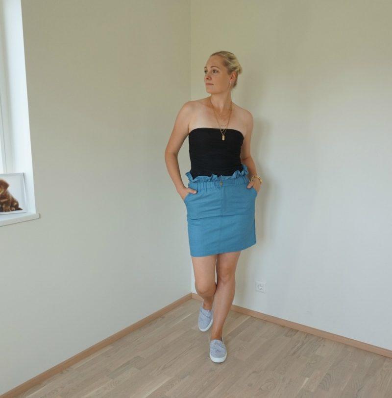 Black Mesh Strapless Bodysuit - Trixy