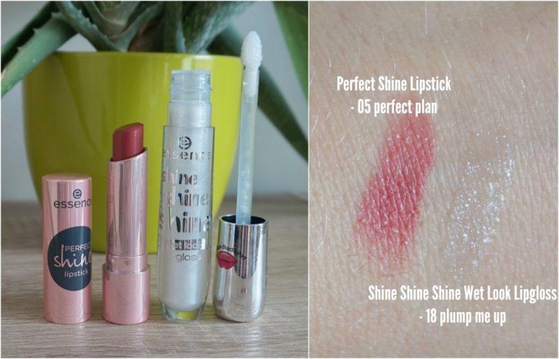 essence cosmetics perfect shine lipstick shine shine shine wet look lipgloss