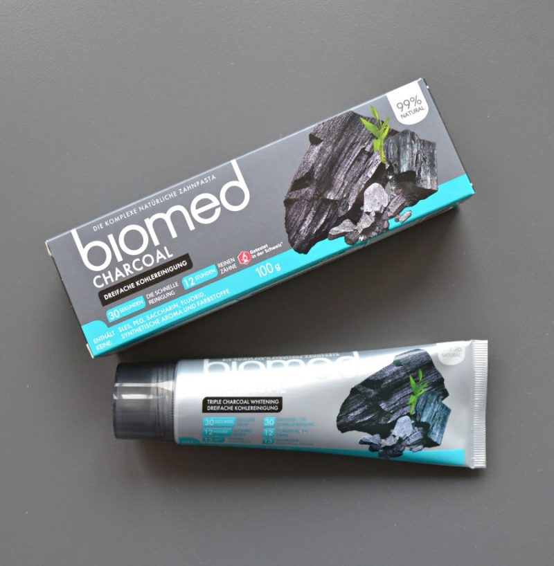 Biomed Charcoal Natural Toothpaste