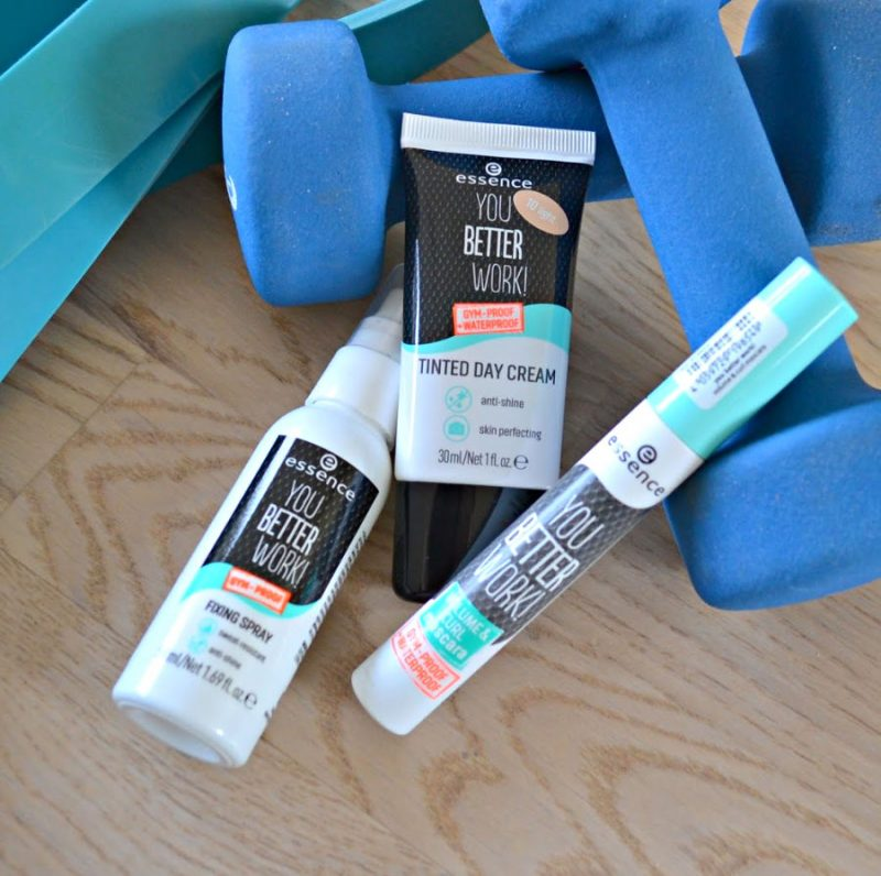 Essence You Better Work Gym-Proof makeup products