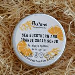 Nurme Sea Buckthorn and Orange Sugar Scrub | Nurme astelpaju-apelsini kehakoorija
