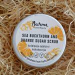 Nurme Sea Buckthorn and Orange Sugar Scrub   Nurme astelpaju-apelsini kehakoorija