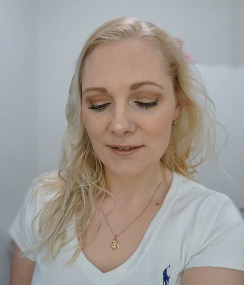 simple daytime makeup look with essence makeup products