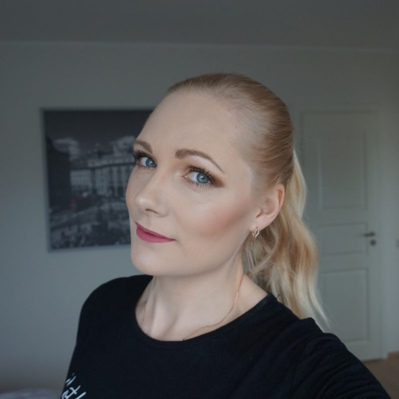 Essence the Nude edition eyeshadow palette makeup look