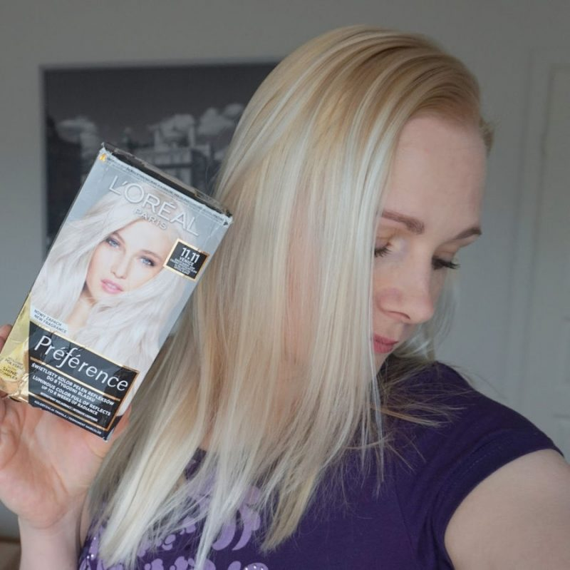 L'Oreal Preference 11.11 Ultra Light Crystal Blonde