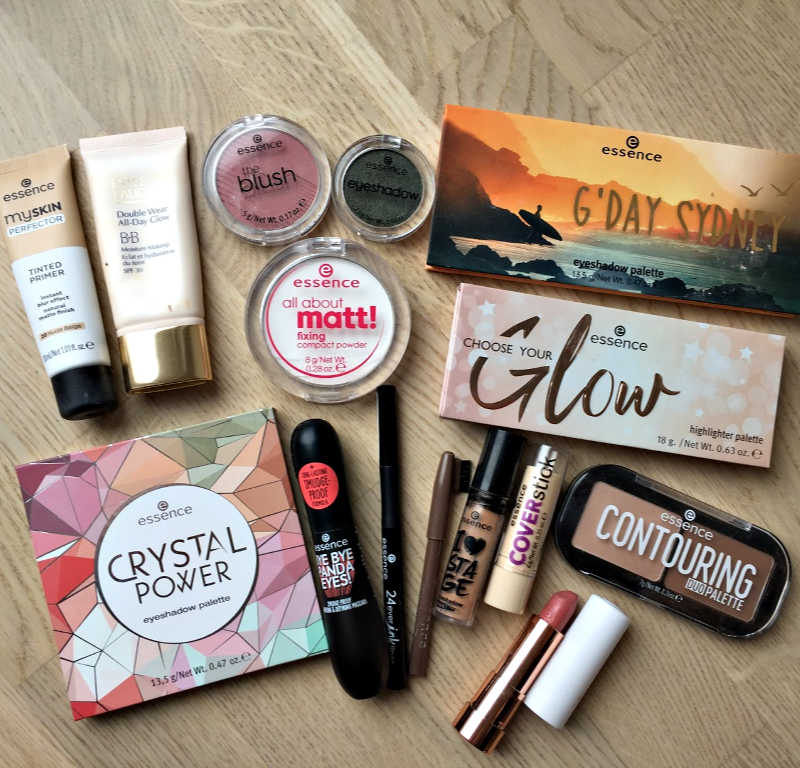 essence cosmetics makeup products