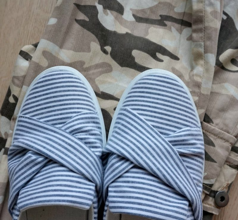 stripes and camouflage