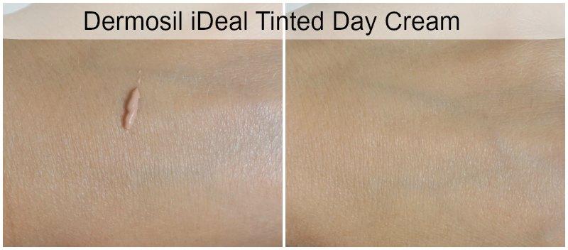 Dermosil iDeal Tinted Day Cream swatch