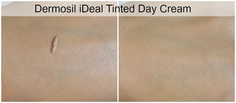 Dermosil iDeal Tinted Day Cream swatch