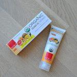 Radius Organic Coconut Toothpaste - Ginger Citrus