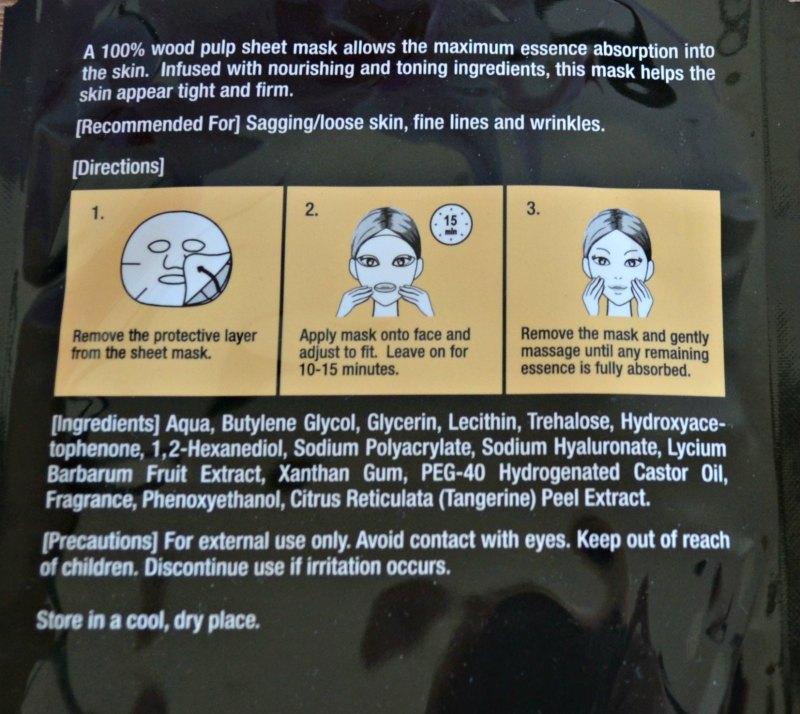 Radiant Seoul Firming pinguldav kangasmask