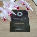 Radiant Seoul Firming Sheet Mask review