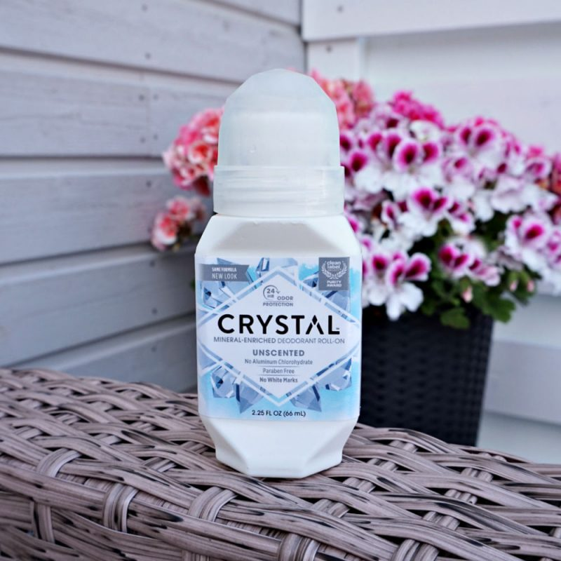 Crystal Body Deodorant Mineral Deodorant Roll-On Unscented