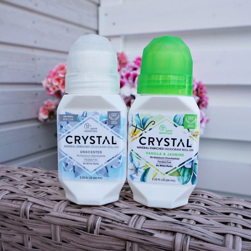 CRYSTAL Mineral Deodorant Roll-ons