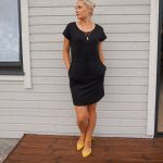 Casual black and yellow outfit & weekly fashion linkup