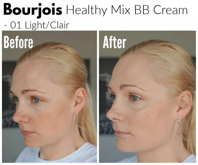 Bourjois Healthy Mix BB Cream before after