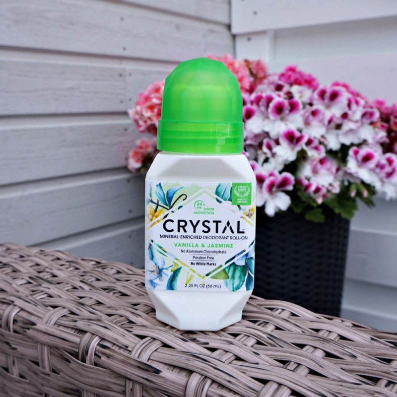 Crystal Body Deodorant Mineral Deodorant Roll-On Vanilla & Jasmine