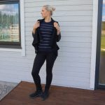 Black, navy, white and stripes & weekly link up #191