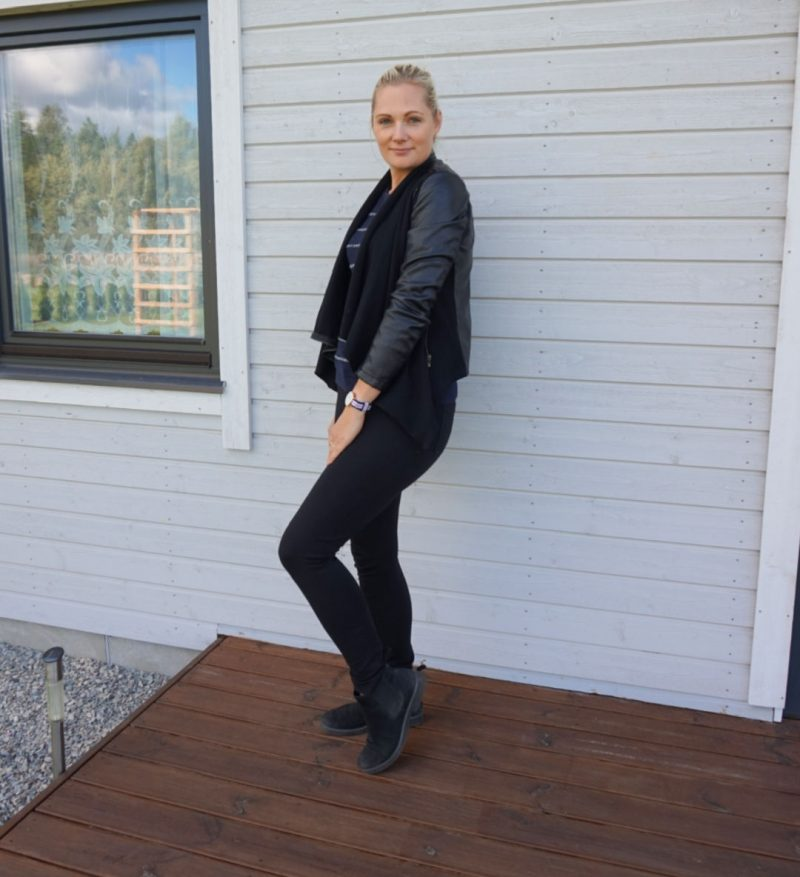 simple casual outfit for fall