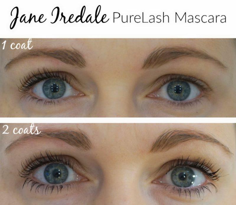 Jane Iredale PureLash Mascara on my lashes