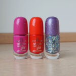 Essence Shine last & Go! gel nail polishes & Extreme Gel Top Coat