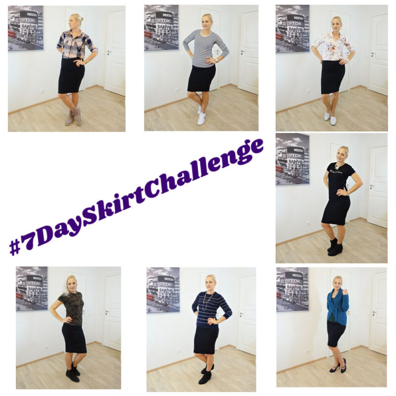 7 day skirt challenge