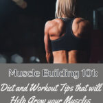 muscle building 101 - diet and workout tips