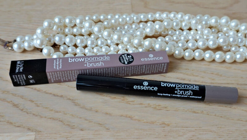 Essence Brow Pomade + Brush in a shade 02 Ash Blonde