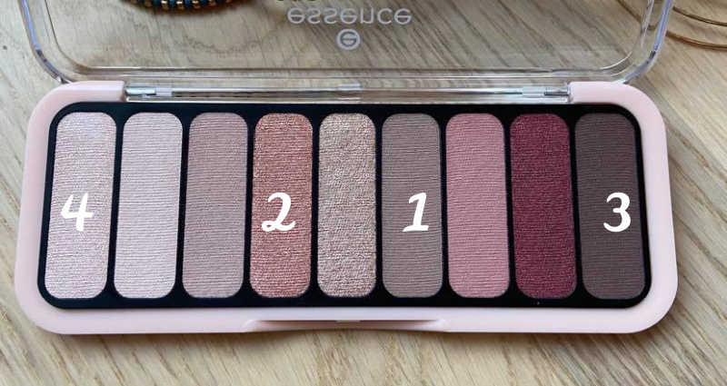 Essence the Rose Edition eyeshadow palette in shade 20 Lovely In Rose.