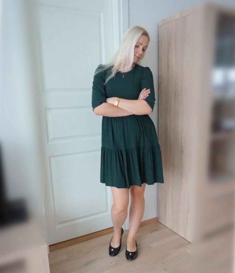 Vero Moda dress Nads Fir Green